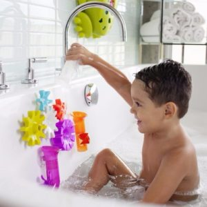 Boon Cogs Bath Toy With Boon Tubes - Baby Cubby