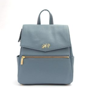 Mini Classic Bag - Dusty Blue