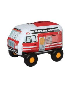Manhattan Toy Company Bumpers Soft Bodied Toy Car - Firetruck