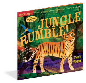 Jungle Rumble Indestructible Book - Baby Cubby