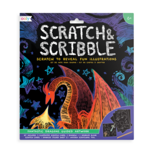 Scratch and Scribble Pad - Fantastic Dragons