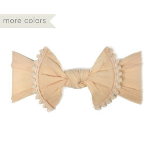 Trimmed Knot Headband - Baby Cubby