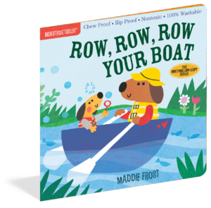 Workman Publishing Indestructibles Book - Row Row Row Your Boat