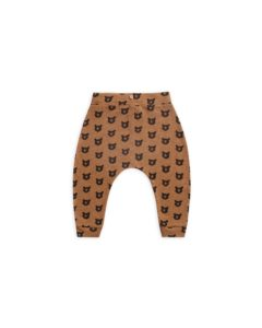 Rylee and Cru Caramel Bears Slouch Pant
