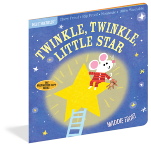 Indestructibles Book - Twinkle Twinkle Little Star