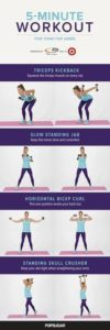 5 Minute Workout for Tank Top Arms (At Home or Gym)