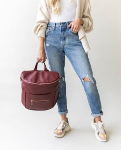 Original Diaper Bag - Wine