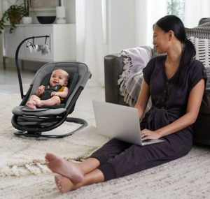 Baby Jogger City Sway 2-in-1 Rocker and Bouncer