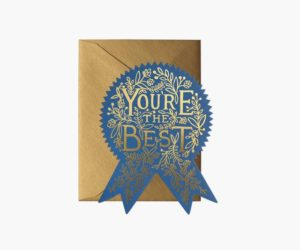 Rifle Paper Co- You're the Best Card