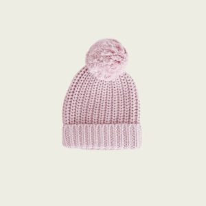 Jamie Kay Cozy Hat - Old Rose