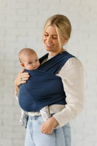 Solly Baby Wrap dusk colored