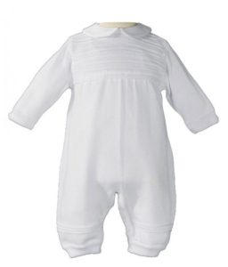 Little Things Mean A Lot White Knit Coverall