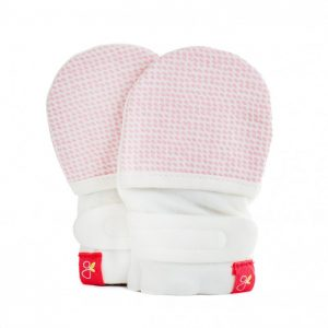 Goumikids Mitts - Size 0-3 Month - Drops (Pink)
