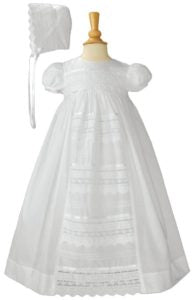 Little Things Mean A Lot - White Gown with Venise Lace