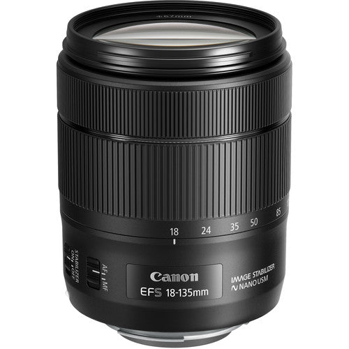 Canon EF-S 18-135mm f/3.5-5.6 IS USM Lens (Rental)