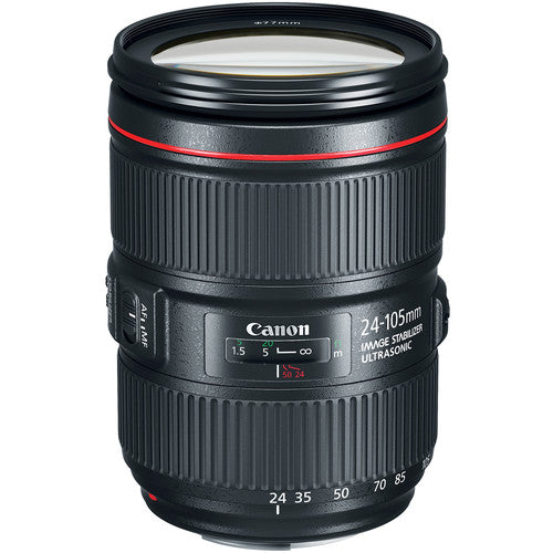 Canon EF 24-105mm f/4L IS II USM Lens (Rental)