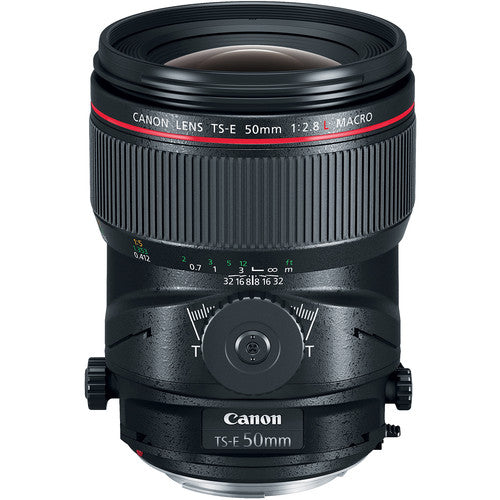 Canon TS-E 50mm f/2.8L Macro Tilt-Shift Lens (Rental)