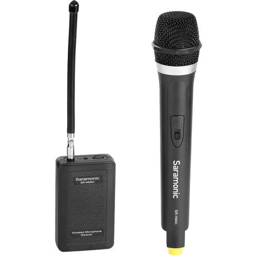 Saramonic SR-WM4CA Wireless VHF Handheld Microphone System with Portable Camera-Mountable Receiver