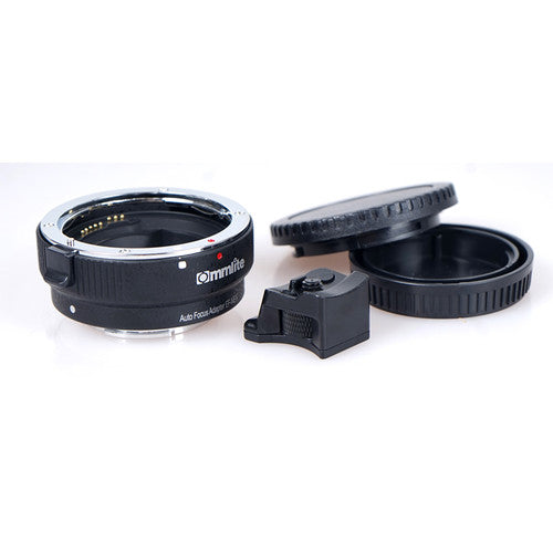 Commlite Electronic Autofocus Lens Mount Adapter for Canon EF or EF-S-Mount Lens to Sony E-Mount Camera