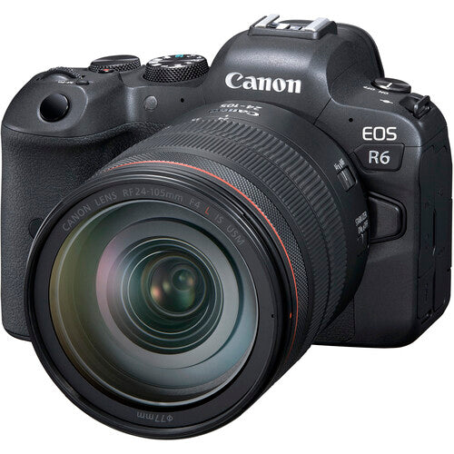 Canon EOS R6 Mirrorless Camera and RF 24-105mm F4-7.1 IS STM Lens