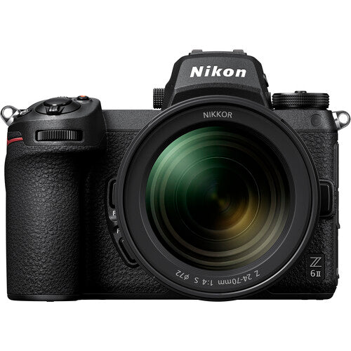 Nikon Z6 II Mirrorless Camera With 24-70mm F/4 Lens Kit
