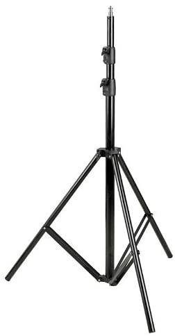 Fancier WT806 Adjustable Light Tripod Stand Black