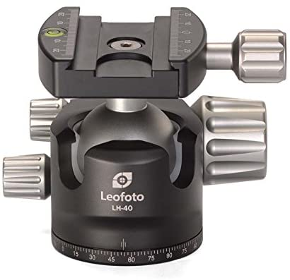 Leofoto 40mm Low Profile Ball Head (Quick release clamp)