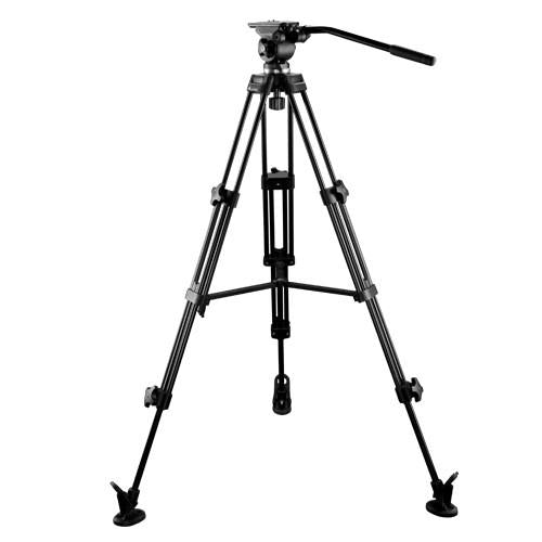 E-Image EI-7050-AA 6ft Tripod Stand Kit with Fluid Head for DSLR Camera Payload 5KG