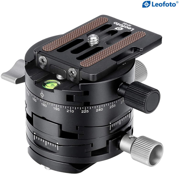 Leofoto 3 in 1 Panorama Geared Ball Head
