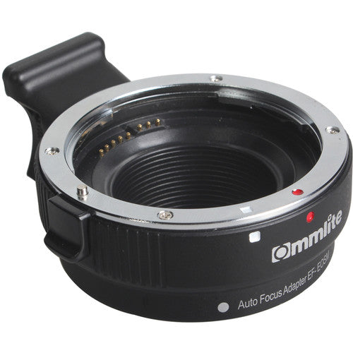 Commlite Electronic Autofocus Lens Mount Adapter for Canon EF-Mount Lens to EF-M-Mount Camera