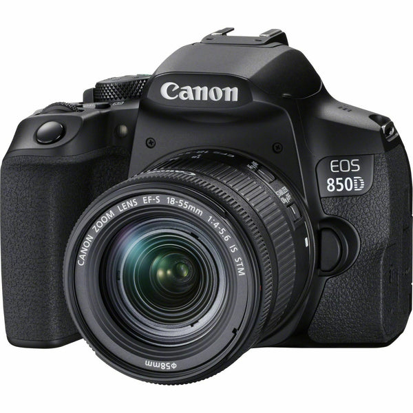 Canon EOS 850D DSLR Camera with EF-S 18-55mm f/4-5.6 IS STM Lens - 3925C015