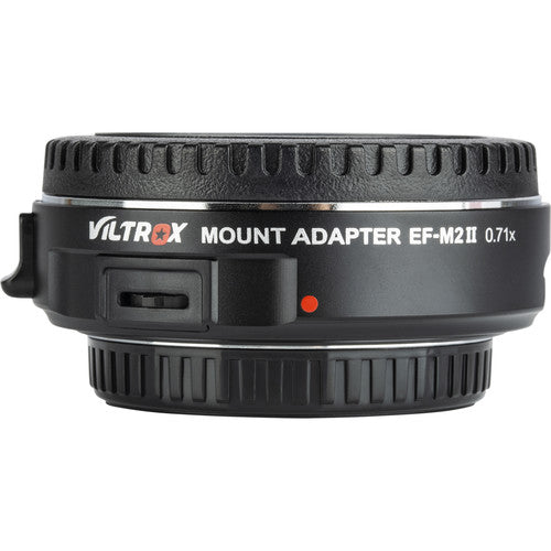 Viltrox EF-M2 II Canon EF Lens to Micro Four Thirds Camera Mount Adapter