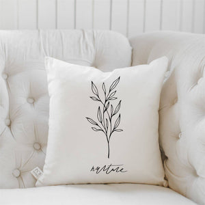 PCB Home - Nurture Wildflower Throw Pillow