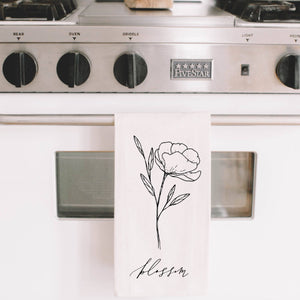 PCB Home - Blossom Wildflower Tea Towel