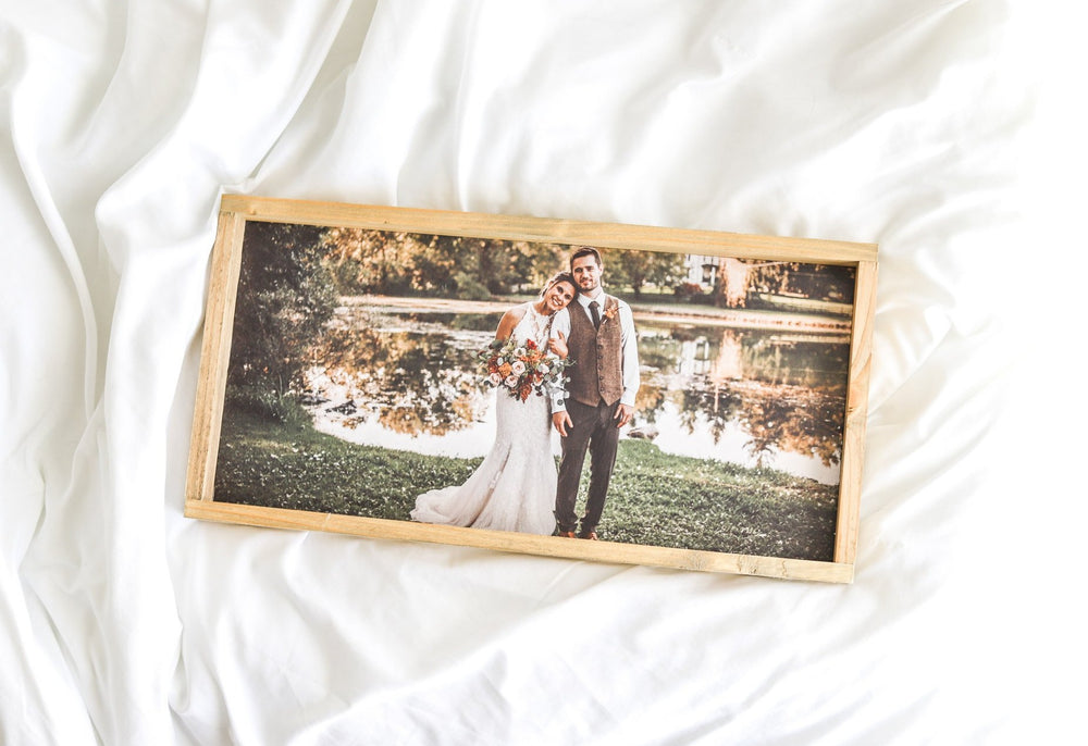 Custom Photo Sign - Wood Framed