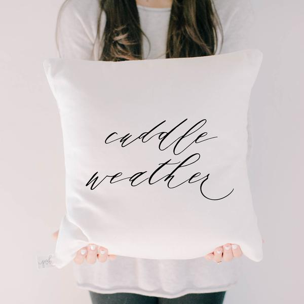 Cuddle Weather Pillow
