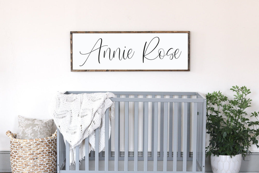Girls Nursery Sign