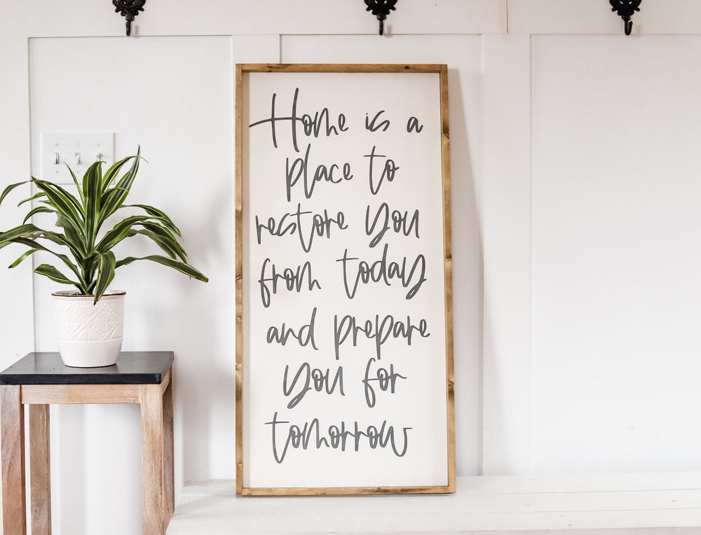 Home Quote Sign