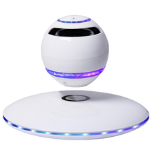 Load image into Gallery viewer, Wireless Levitation Bluetooth Speaker With RGB Lights