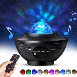 Galaxy Projector Lamp Starry Sky Night
