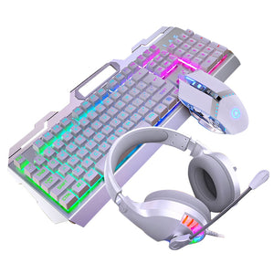 Luminous RGB Backlight Mechanical Gaming Keyboard Mouse & Headset Set
