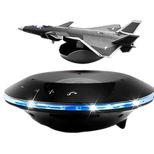 Load image into Gallery viewer, Fighter Jet Magnetic Levitation Smart Bluetooth Speaker