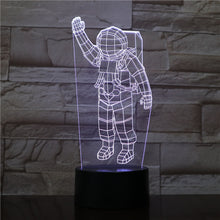 Load image into Gallery viewer, Astronaut lamp Figure Touch Sensor RGB Night Light Cosmonaut