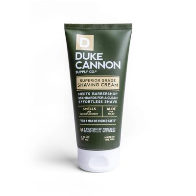 Duke Cannon Superior Grade Shave Cream, 6 fl oz. $14