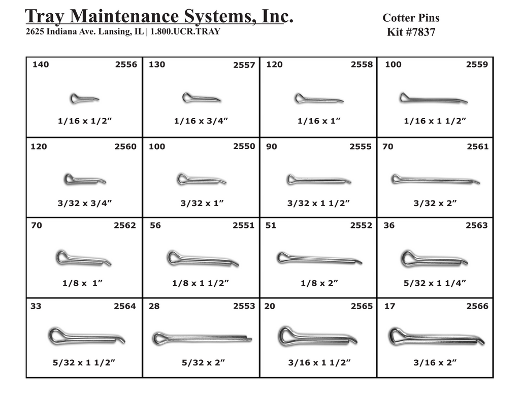 Cotter Pin Assortment