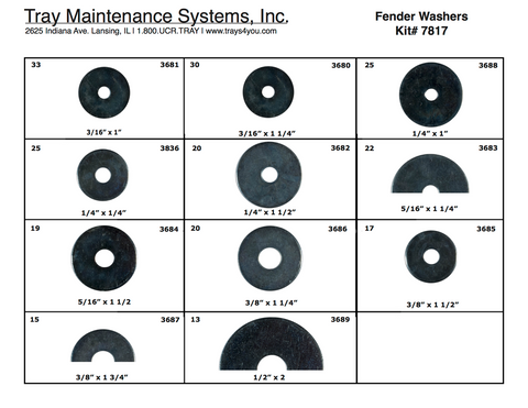 Fender Washer Assortment