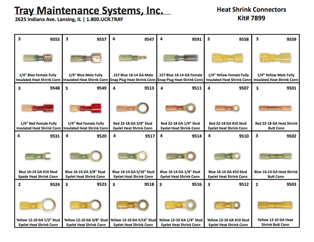 Heat Shrink Connector Assortment