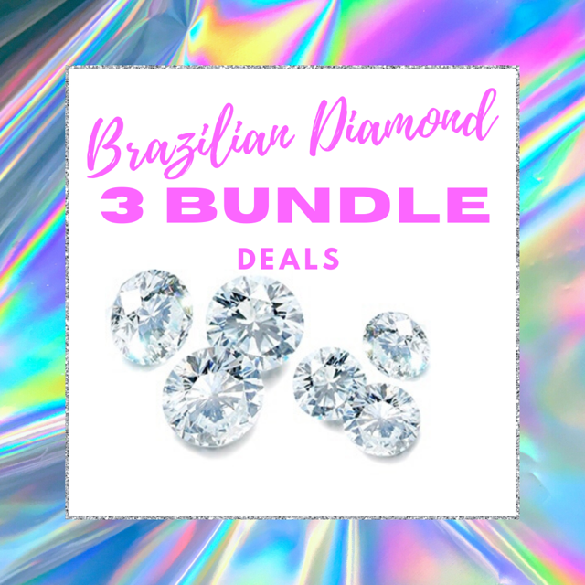 Platinum Brazilian Diamond Virgin Hair -3 Bundle Deal