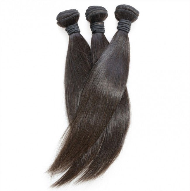 Platinum Virgin Brazilian Diamond Straight Hair Single 12-34""