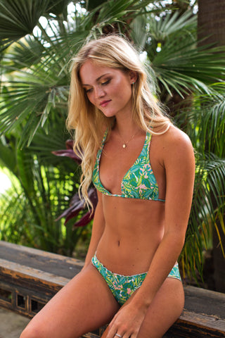 LITTLE DUME TIE SIDE BIKINI-BOTTOM